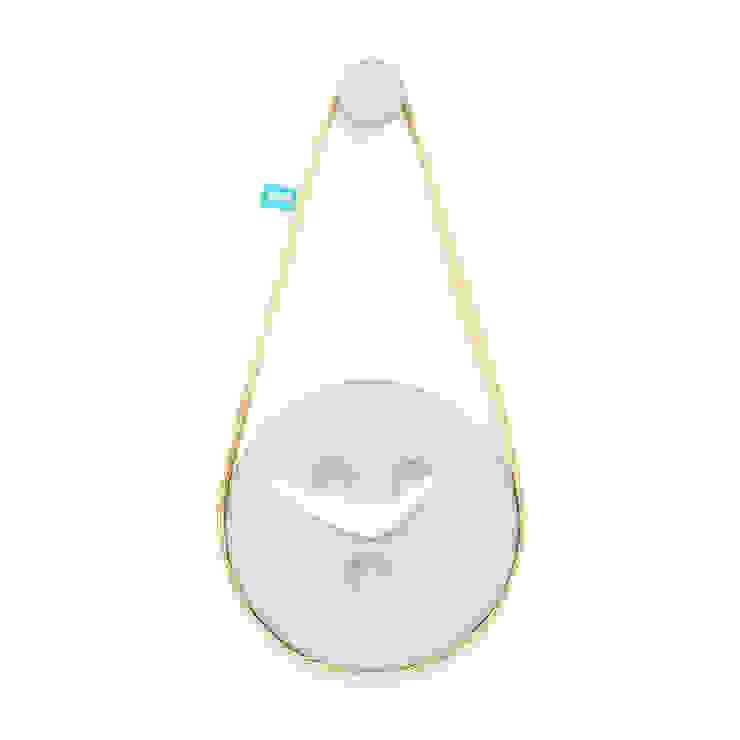 SILVA (relógio de parede) - Baby Blue por DAM Campestre Sisal/palha Azul