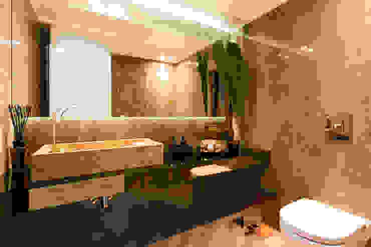 APARTAMENTO VC Modern Bathroom by 1870 ARQUITECTURA   INTERIORES Modern