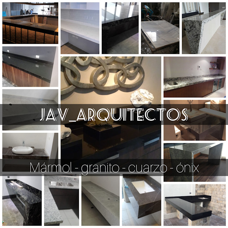 JAV_ARQUITECTOS Modern Bathroom Granite Black