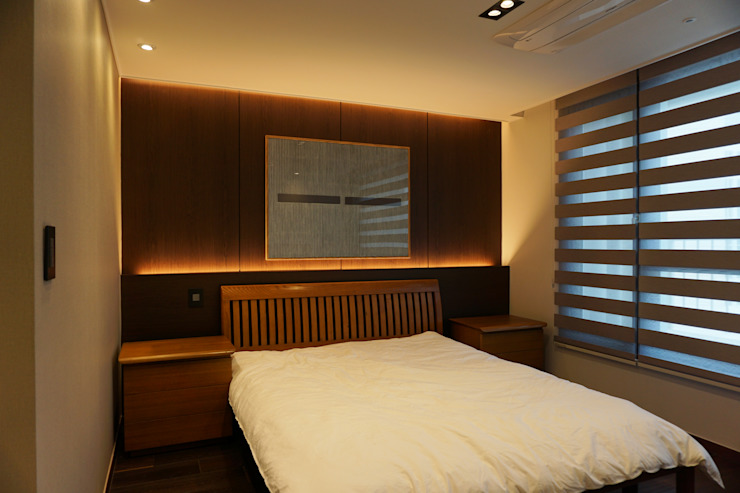 APT INTERIOR: 감자디자인의  침실