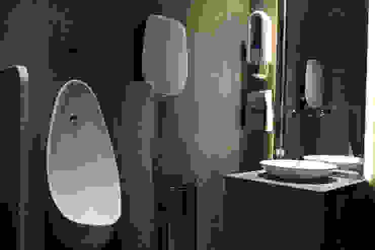 RESTAURANT INTERIOR 아시아스타일 욕실 by 감자디자인 한옥