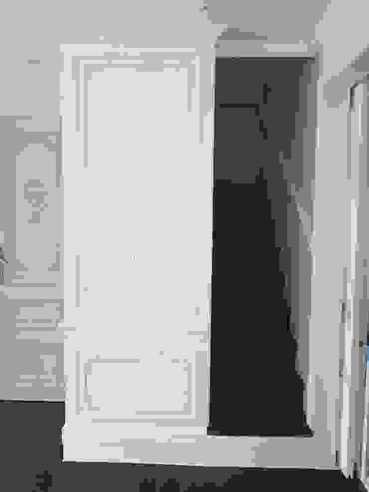 Scandinavian style corridor, hallway& stairs by 주식회사 큰깃 Scandinavian