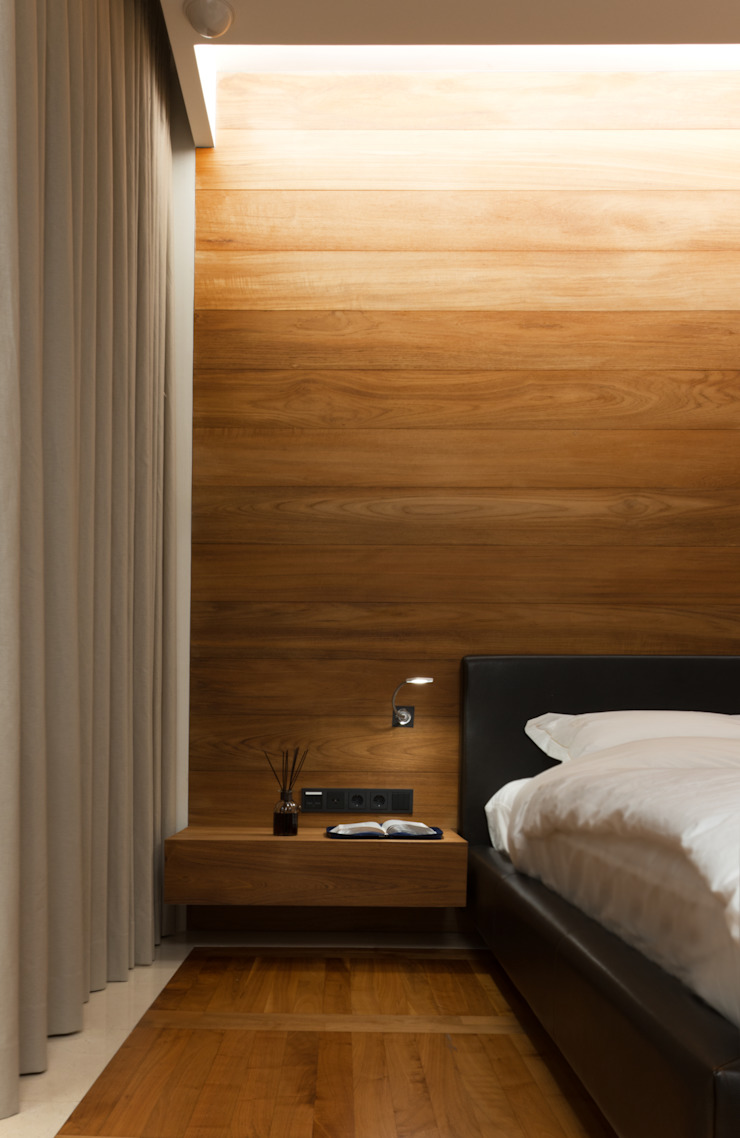 Minimalist bedroom by M's plan 엠스플랜 Minimalist