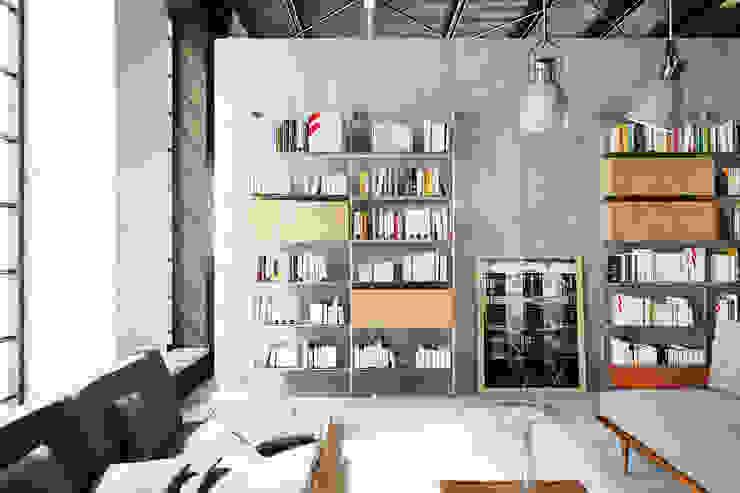 Damiano Latini srl Modern office buildings Aluminium/Zinc Metallic/Silver