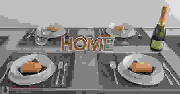 인더스트리얼 다이닝 룸 by Home Staging Tarragona - Deco Interior 인더스트리얼