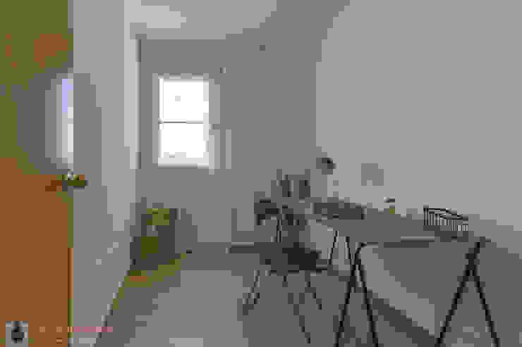 인더스트리얼 서재 / 사무실 by Home Staging Tarragona - Deco Interior 인더스트리얼