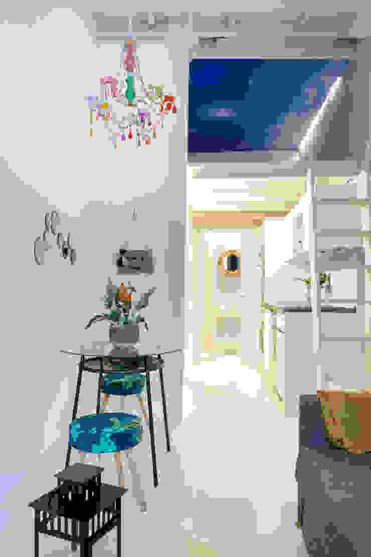 Apartamento en Gran Vía. Madrid de Estudio Mercedes Arce Ecléctico Piedra