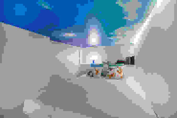 Apartamento en Gran Vía. Madrid de Estudio Mercedes Arce Ecléctico Madera Acabado en madera