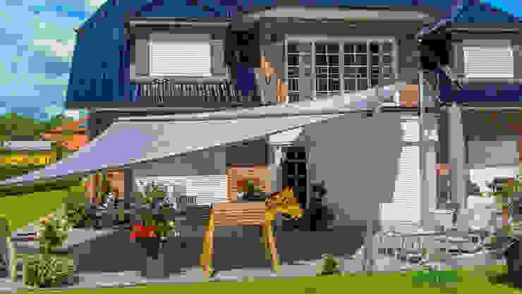 Pina GmbH - Sonnensegel Design Modern Garden Grey