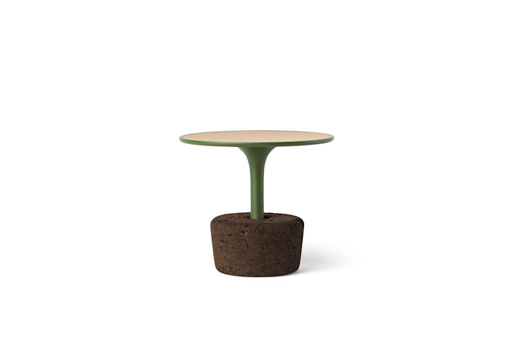 FLORA (mesas de apoio) - Sleepy Green por DAM Moderno Cortiça