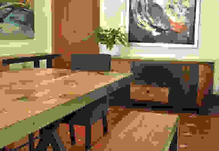 Comedor Convento de Segusino Muebles Condesa Moderno Madera maciza Multicolor