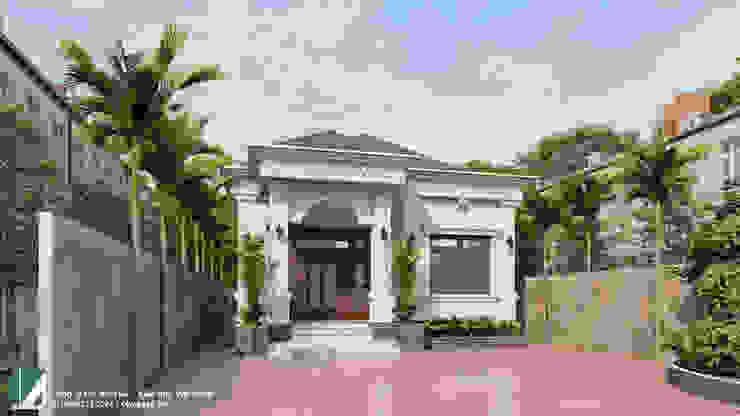 BIỆT THỰ 01 TẦNG - TIÊN LÃNG - HẢI PHÒNG bởi Kiến trúc Việt Xanh