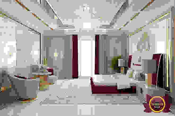 Posh Bedroom Interior by Luxury Antonovich Design