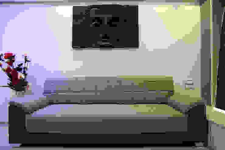 Interior Designing Sabita Enterprises Living roomSofas & armchairs Plywood White