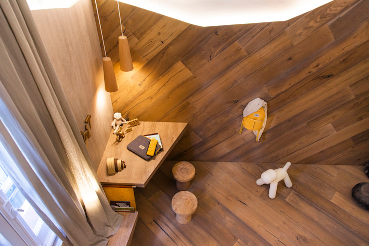 Nursery/kid's room by Estudio Plok,