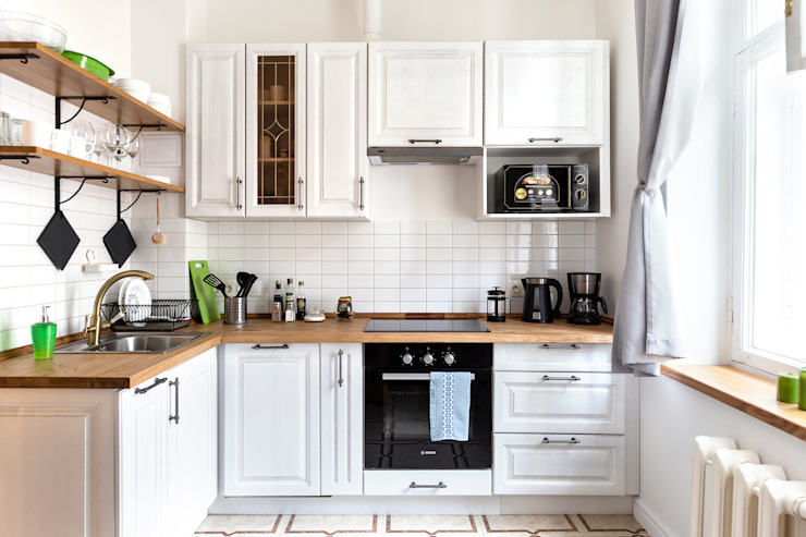 Tatiana Nikitina Photography Scandinavian style kitchen