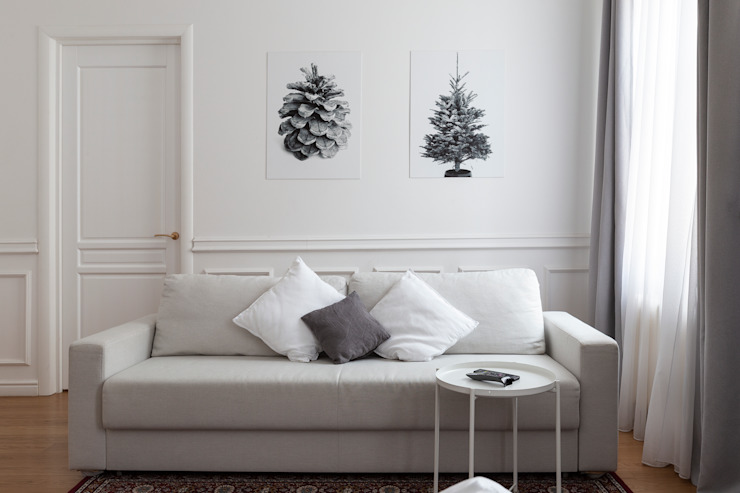 Tatiana Nikitina Photography Scandinavian style living room