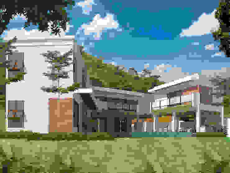 eksterior belakang villa mahabali Oleh epicnesia