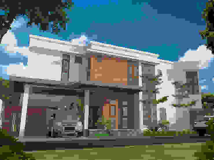 eksterior depan villa mahabali Oleh epicnesia