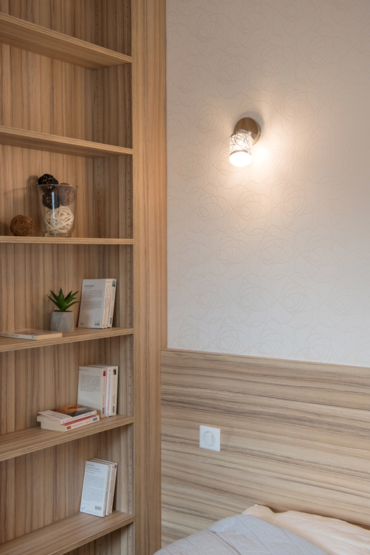 Camille BASSE, Architecte d'intérieur Moderne Schlafzimmer