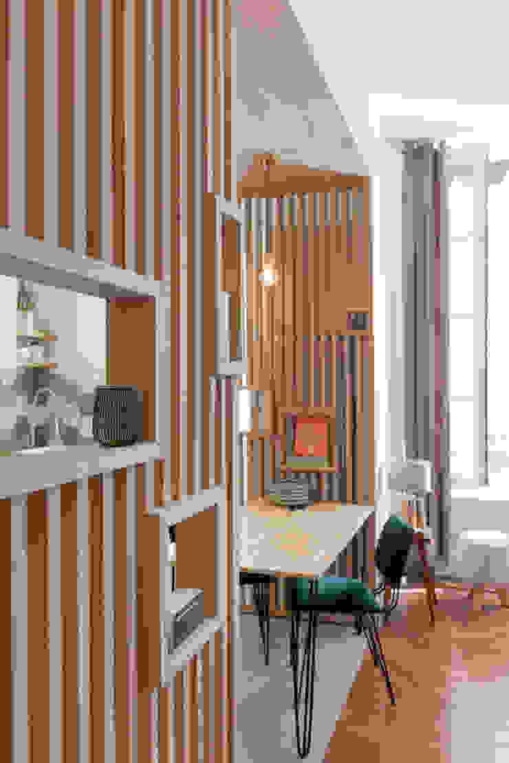 Chez Sophie et Morgan Salle à manger moderne par Camille BASSE, Architecte d'intérieur Moderne