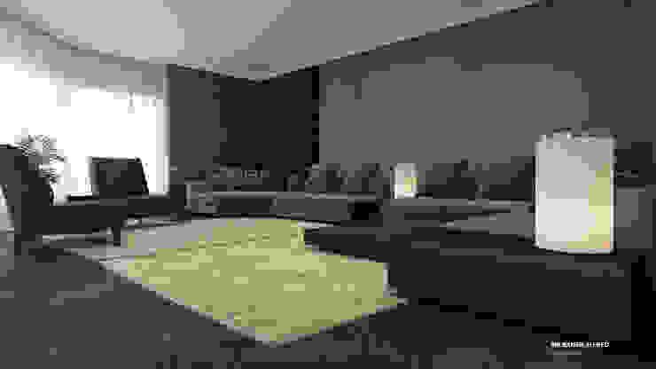 Living room Modern living room by ICONIC DESIGN STUDIO Modern