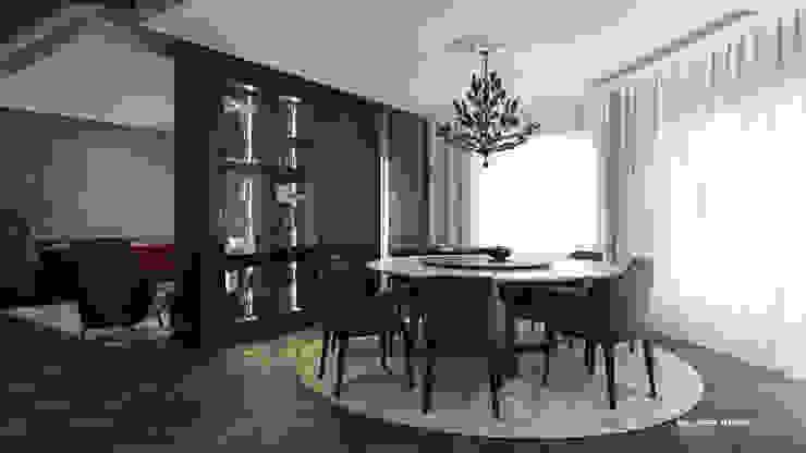 Reception l Dinningroom Modern dining room by ICONIC DESIGN STUDIO Modern