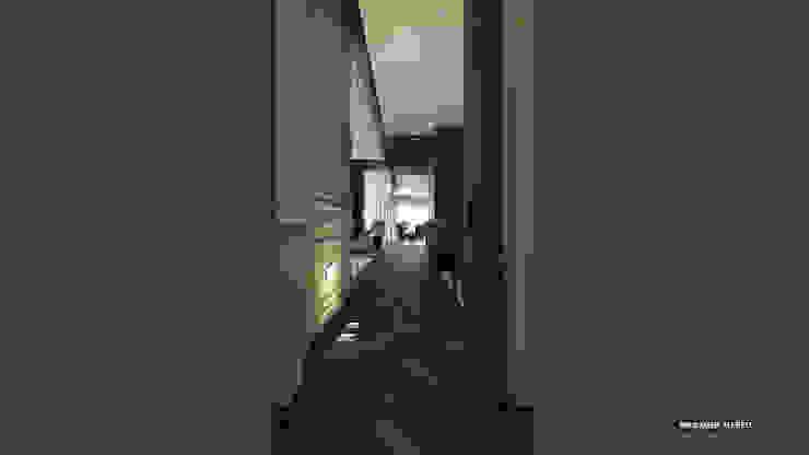 corridor Modern corridor, hallway & stairs by ICONIC DESIGN STUDIO Modern