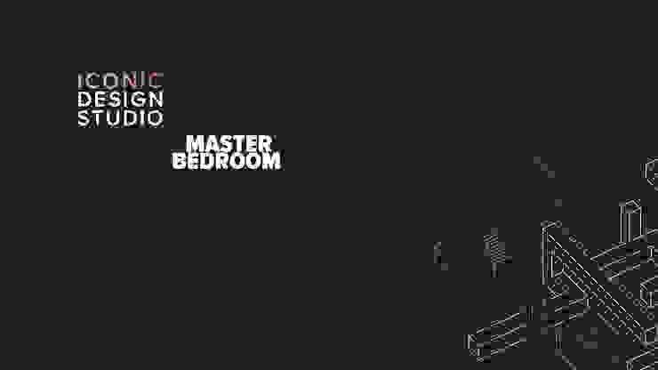 Master Bedroom Modern style bedroom by ICONIC DESIGN STUDIO Modern