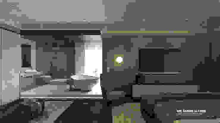 Master Bedroom l Bathroom Modern bathroom by ICONIC DESIGN STUDIO Modern