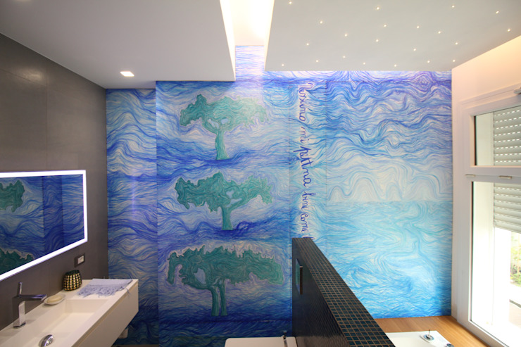 من Giuseppe Rappa & Angelo M. Castiglione حداثي خشب Wood effect