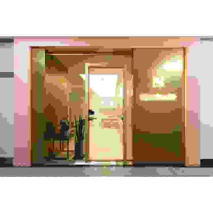 ALU-SW (1SW, 편개형 여닫이도어) 모던 스타일 쇼핑 센터 by WITHJIS(위드지스) 모던 알루미늄 / 아연