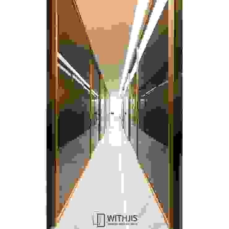ALU-SD 1742 (상부구동형) 모던 스타일 쇼핑 센터 by WITHJIS(위드지스) 모던 알루미늄 / 아연