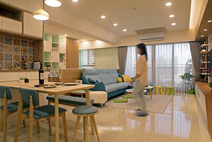 【極 光】 根據 欣和室內裝修有限公司 北歐風
