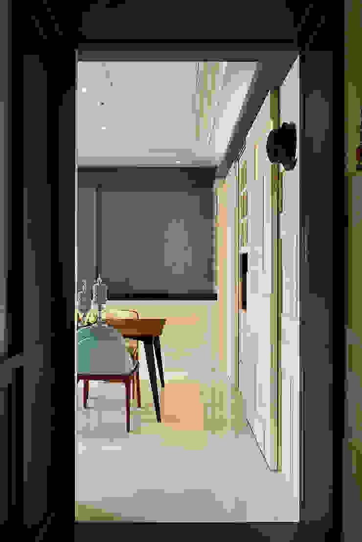 生活與設計平行 寬林室內裝修設計有限公司 牆壁與地板牆壁裝飾 塑木複合材料 Blue
