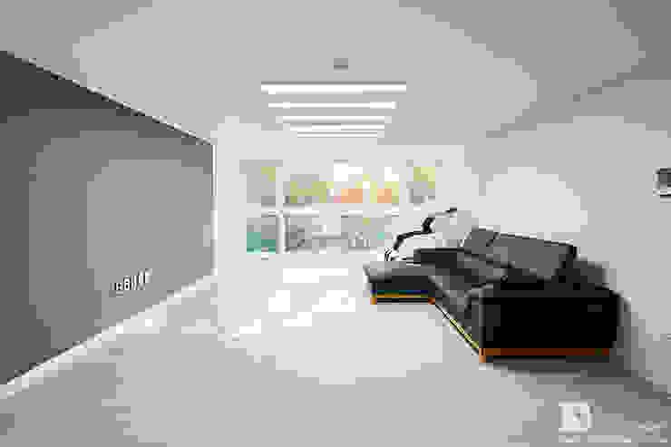 거실인테리어 모던스타일 거실 by 곤디자인 (GON Design) 모던