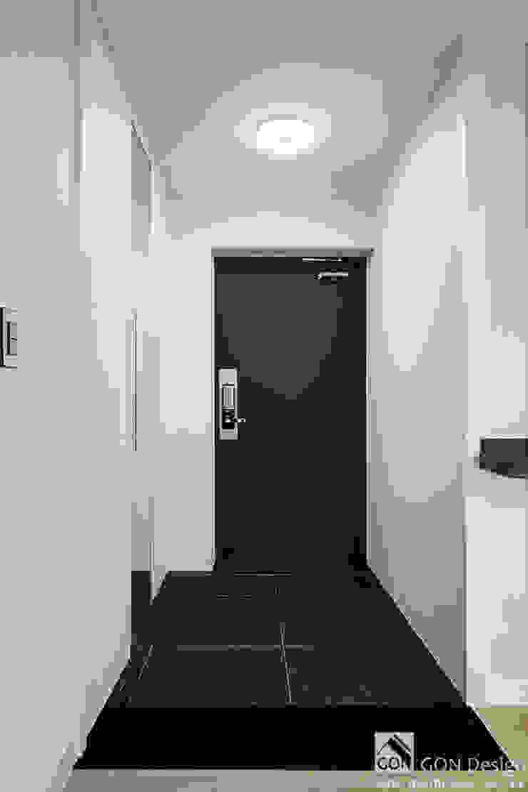 신정 세양청마루 33py 모던스타일 복도, 현관 & 계단 by 곤디자인 (GON Design) 모던