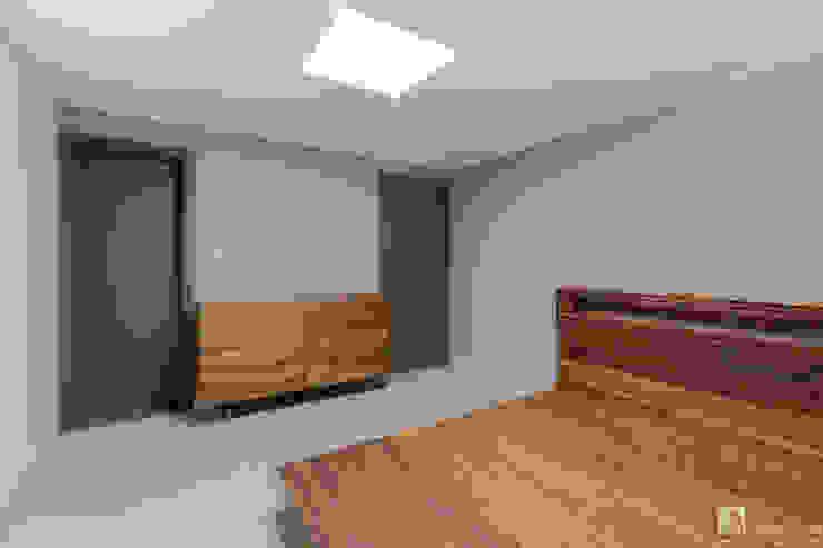 침실인테리어 모던스타일 침실 by 곤디자인 (GON Design) 모던