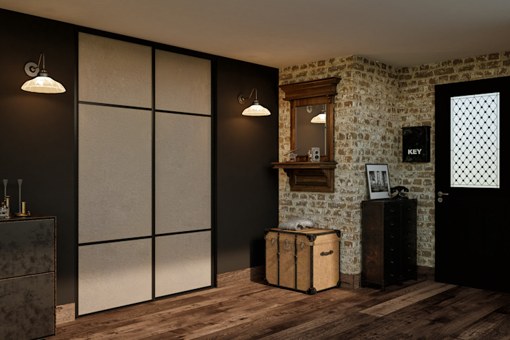 Kazed Corridor, hallway & stairsDrawers & shelves Fake Leather Beige
