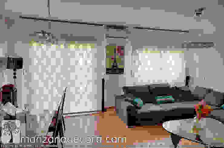 Manzanodecora 窓&ドアカーテン