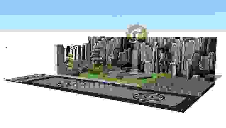Desain Tukang Tebing Dekorasi Dinding & Lantai Gaya Klasik Oleh Tukang Taman Surabaya - Tianggadha-art Klasik Batu Bata