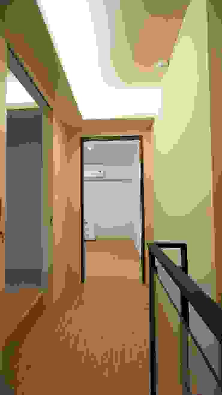 走道 璞玥室內裝修有限公司 現代風玄關、走廊與階梯