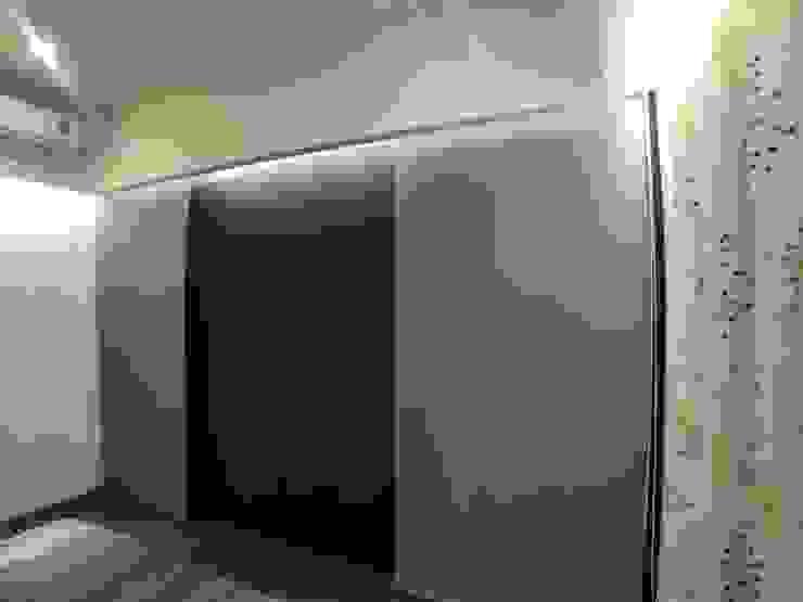 主臥電視牆變化後 台中室內設計裝修|心之所向設計美學工作室 臥室