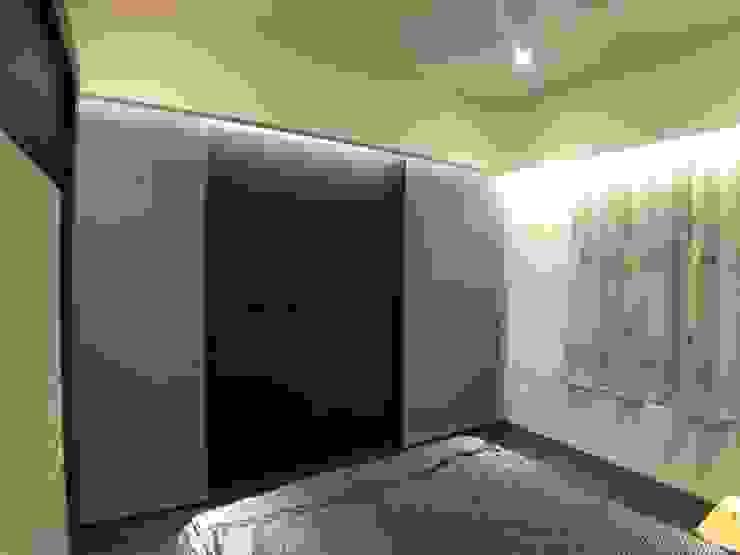主臥電視牆變化後 台中室內設計裝修|心之所向設計美學工作室