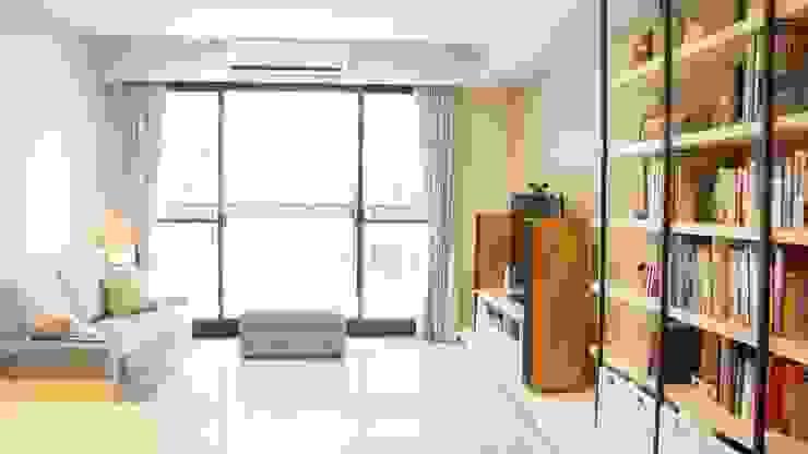 客廳 根據 璞玥室內裝修有限公司 田園風