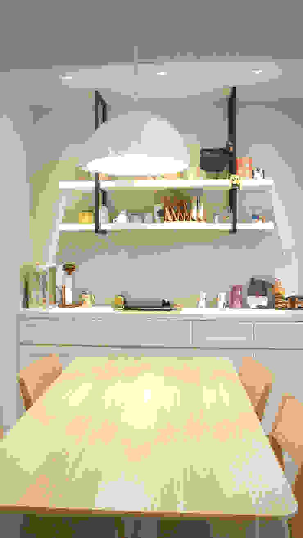 餐廳 根據 璞玥室內裝修有限公司 田園風 木頭 Wood effect