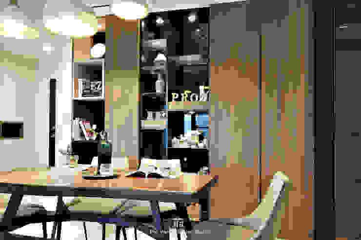 餐廳 Modern Dining Room by 璞玥室內裝修有限公司 Modern Wood Wood effect