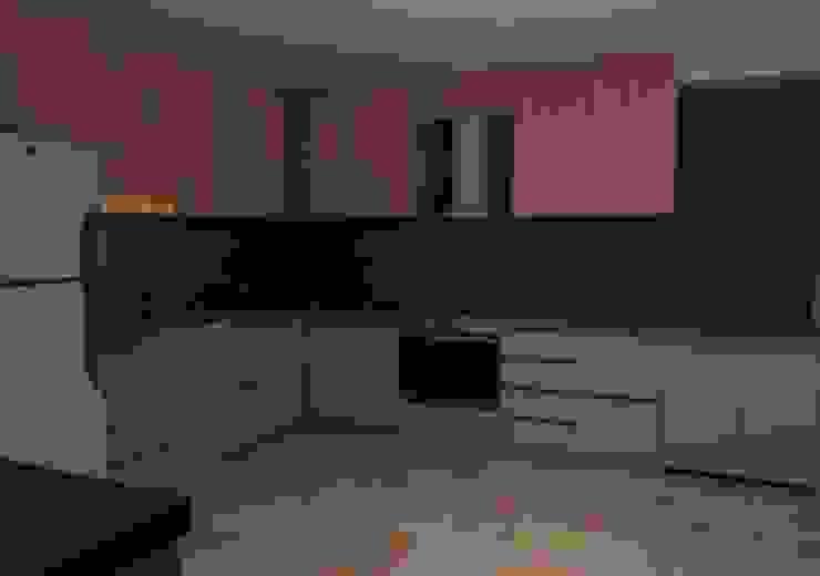 CG Diseño Cocinas pequeñas Madera