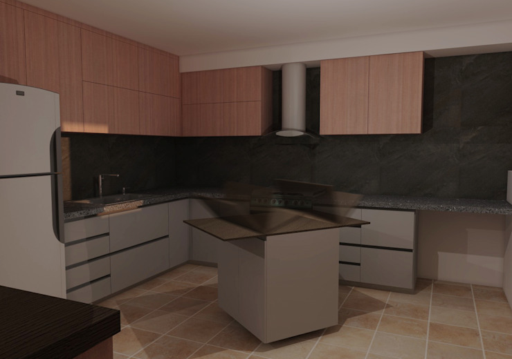 CG Diseño Módulos de cocina Madera
