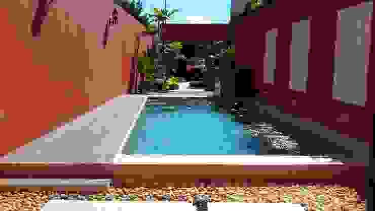 Alberca Grupo Inmobiliario Dofer Albercas modernas
